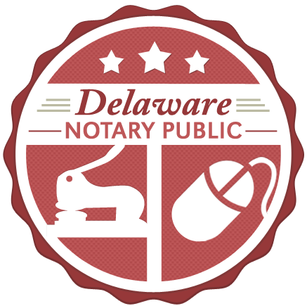 Delaware Notary Public Badge